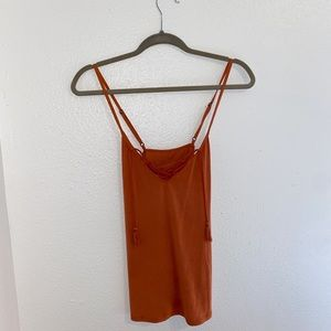 Abercrombie & Fitch Orange Tank Size XS